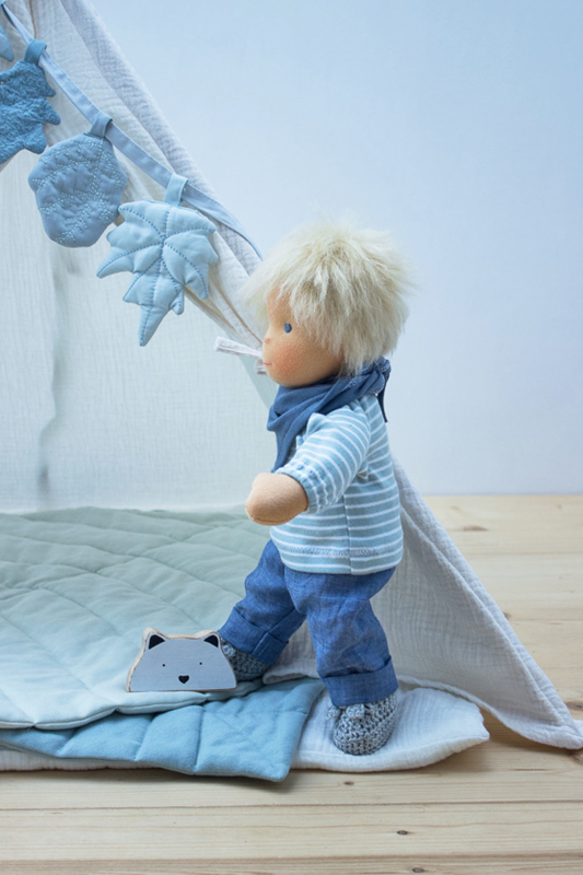 Anfertigung Puppenjunge Max 35 cm