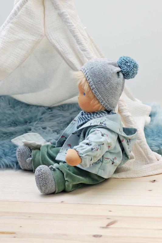 Anfertigung Babypuppe Anton 45 cm