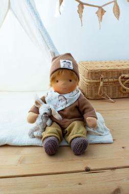 Anfertigung Babypuppe Theo 35 cm