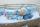 Anfertigung - Minischlamperle puderblau 22 cm