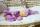 Anfertigung - Minischlamperle flieder 22 cm