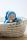 Anfertigung - Minischlamperle türkis 22 cm