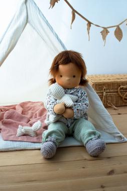 Anfertigung Babypuppe Elfi 45 cm